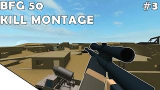 ROBLOX Phantom Forces - BFG 50 KILL MONTAGE #3