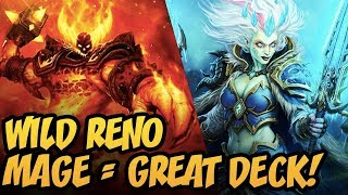 Wild Reno Mage = Great Deck! | Rise Of Shadows | Hearthstone