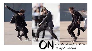 'ON' Kinetic Manifesto Film - BTS JHope Focus (방탄소년단 제이홉 직캠 )