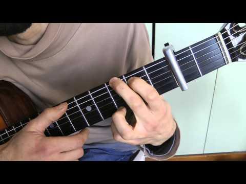 Cours de guitare - Georges BRASSENS : J'ai rendez-vous avec vous (1/2) démo + empreintes