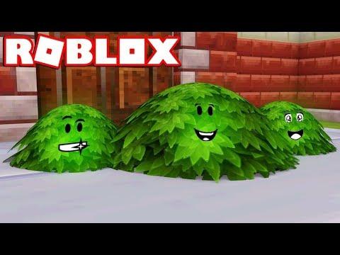 I'M A BUSH in ROBLOX BLOX HUNT / BEST HIDING SPOTS!!
