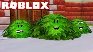 Ich bin ein BUSH in ROBLOX BLOX HUNT / BEST HIDING SPOTS!!