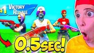 VICTORIA EN😨 *0.5 SEGUNDOS* 😨 en FORTNITE Battle Royale *EPIC FAILS*