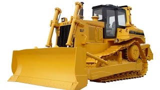 Bulldozers Construction Trucks Tractors Excavators Videos For Children Kids In Action Song Toddlers