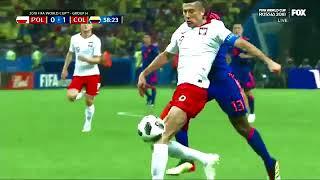 Colombia vs Poland ( 3-0 ) Lewandowski Out | Goals Highlights Resumen y Goles | fifalover