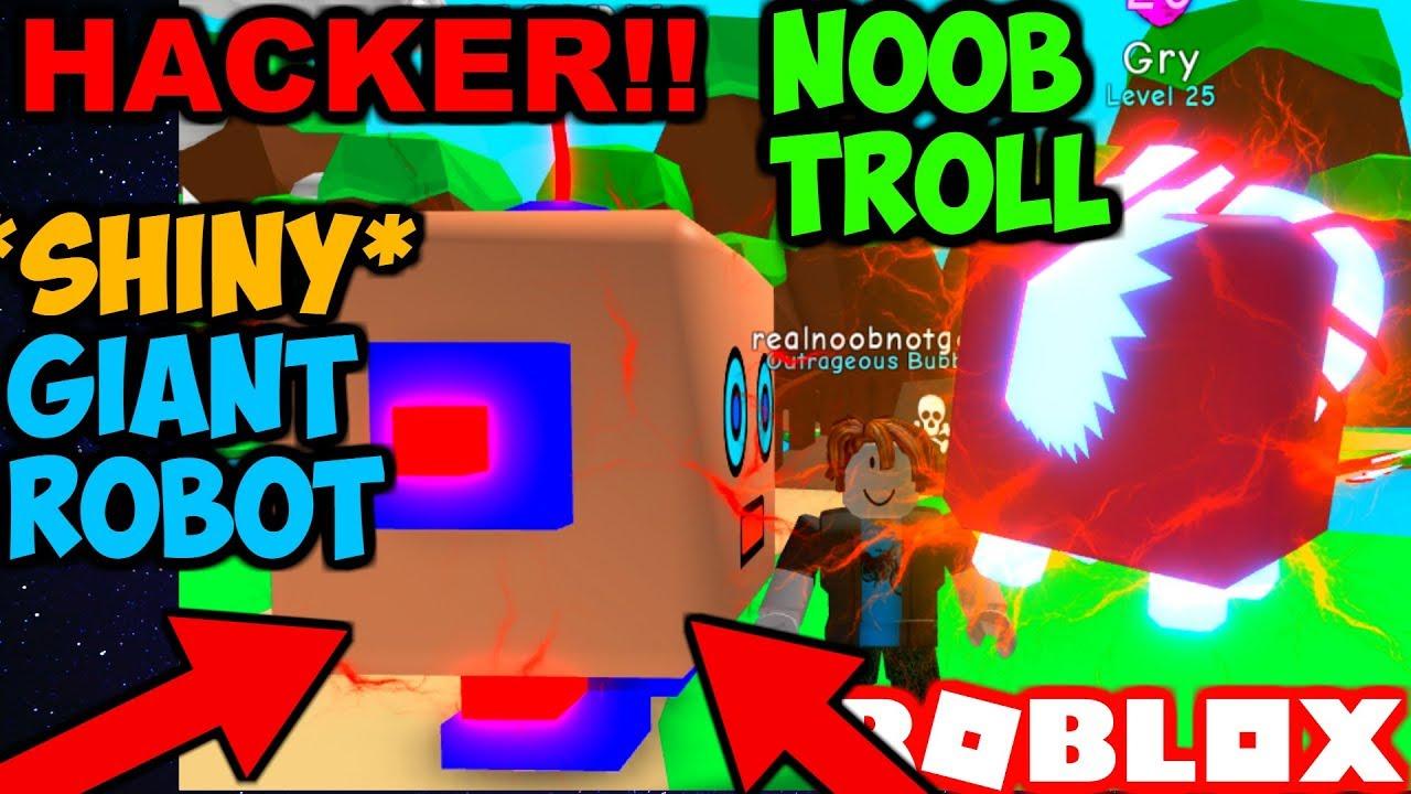 Noob Hacks Shiny Secret Pets Trolling Noobs Bubble Gum