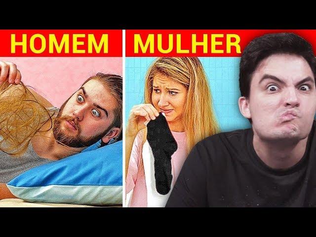 Homens vs. Mulheres! E agora?