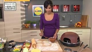 Horno De Sobremesa Para Pizza SPB 800 A1- Lidl España