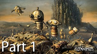 Machinarium: Android RELEASE - Level 1 and 2 Gameplay #1