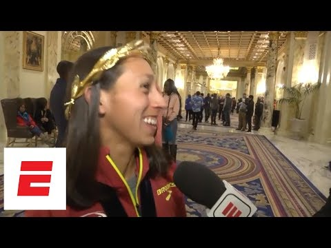 Desiree Linden on being 1st American woman to win Boston Marathon since 1985: Feels 'so good' | ESPN