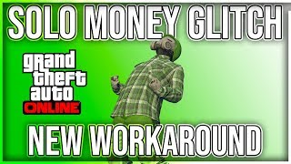 (PATCHED) SOLO MONEY GLITCH WORKAROUND (XBOX1/PS4) GTA 5 ONLINE 1.46 UNLIMITED MONEY (PS4 VERSION)