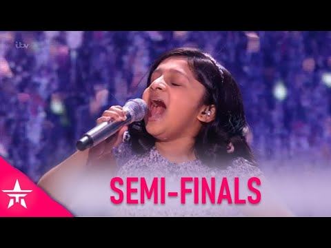Souparnika Nair: A TINY 10 Year Old With BIG Voice Leaves Judges WOWED! | Britain's Got Talent 2020