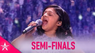 Souparnika Nair: A TINY 10 Year Old With BIG Voice Leaves Judges WOWED!   Britain's Got Talent 2020