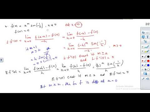 Calculus For Upsc