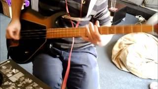 Green Day - Emenius Sleepus - Bass Cover Gibson G3