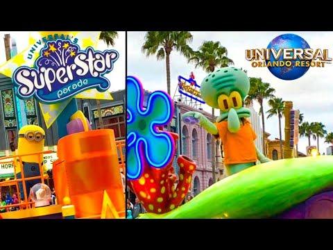Universal's Superstar Parade & Facts!- Universal Studios Orlando
