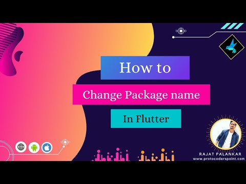 How to change package name in flutter  ||  Using Change app package name library