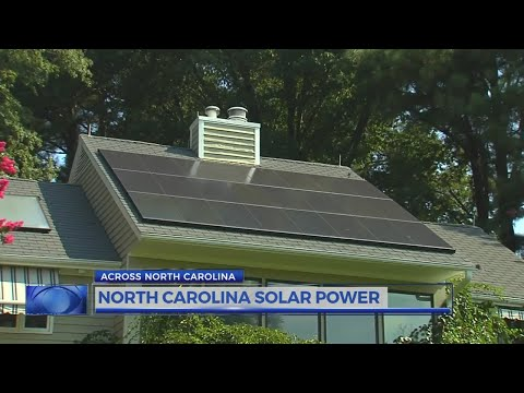 Study shows North Carolina as number 2 for solar electric capacity installed through 2017