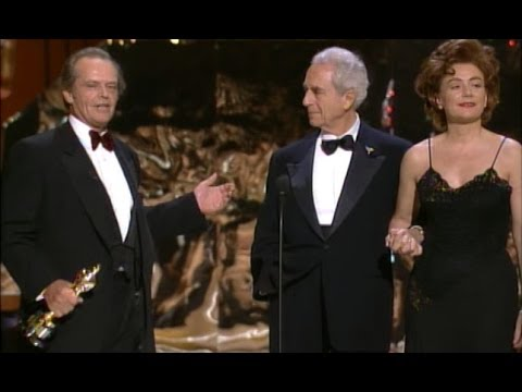 Michelangelo Antonioni receiving an Honorary Oscar®
