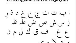 3.  Cara Cepat Bisa Baca Qur'an - Ari Ramadhan  -  Part 3
