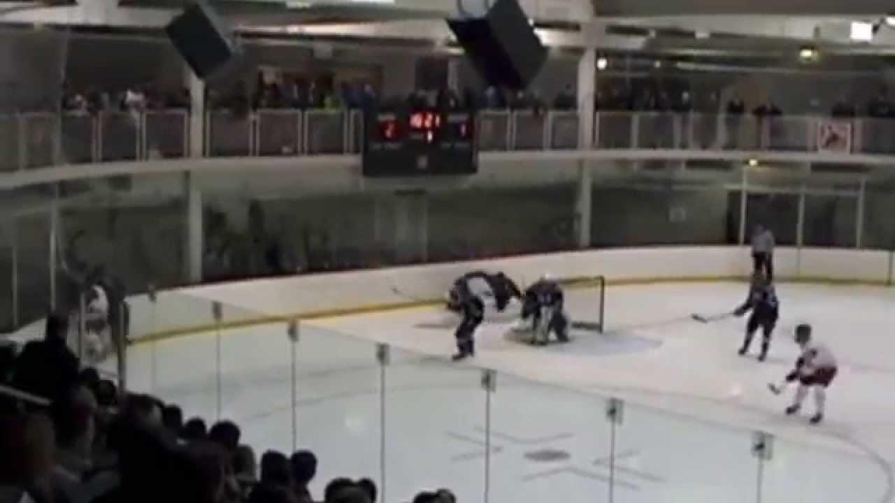 Marian University Hockey Best Hits 2014-15 - YouTube