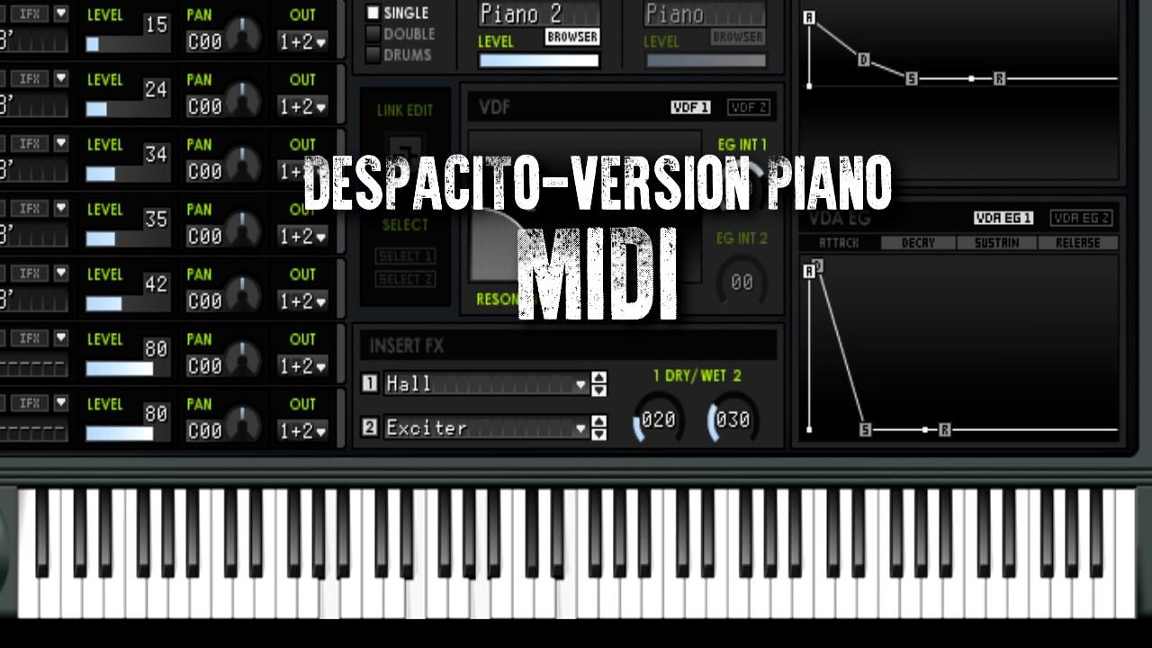 sheet music despacito justin bieber pdf