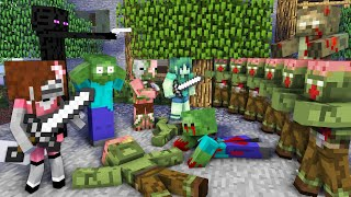 Monster School : NEW CLASSMATES CHALLENGE - Minecraft Animation