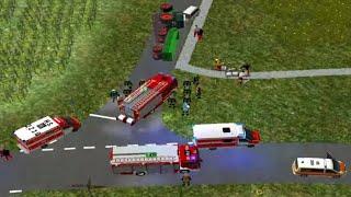 Repeat youtube video Emergency 4 Wegberg Mod 5.0 - Verkehrsunfall Traktor-PKW / eingeklemmte Person