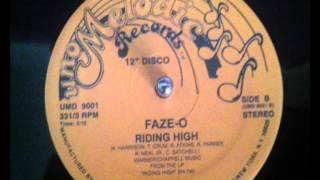 FAZE O  RIDING HIGH 12 INCH