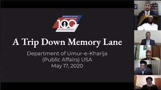 A Trip Down Memory Lane - 25 Photos that Shaped Ahmadiyyat in America