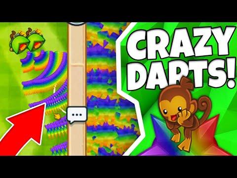 INSANE Dart Monkey Custom HACKS! | Bloons TD Mods