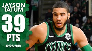 Jayson Tatum drops a career-high 39 points vs. Hornets | 2019-20 NBA Highlights