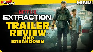EXTRACTION : Trailer Review & Breakdown [Explained In Hindi]