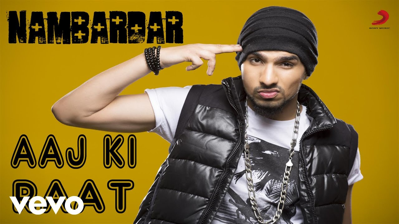 nambardar aaj ki raat mp3 song