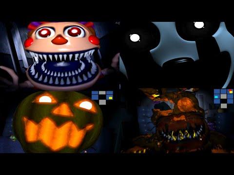 FNAF 4 HALLOWEEN EDITION   ALL JUMPSCARES - Auclip.net   Hot Movie ...