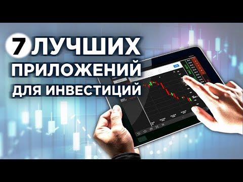 Топ-7 мобильных приложений для инвестиций и трейдинга Сбербанк ВТБ Финам Тинькофф БКС Открытие Альфа