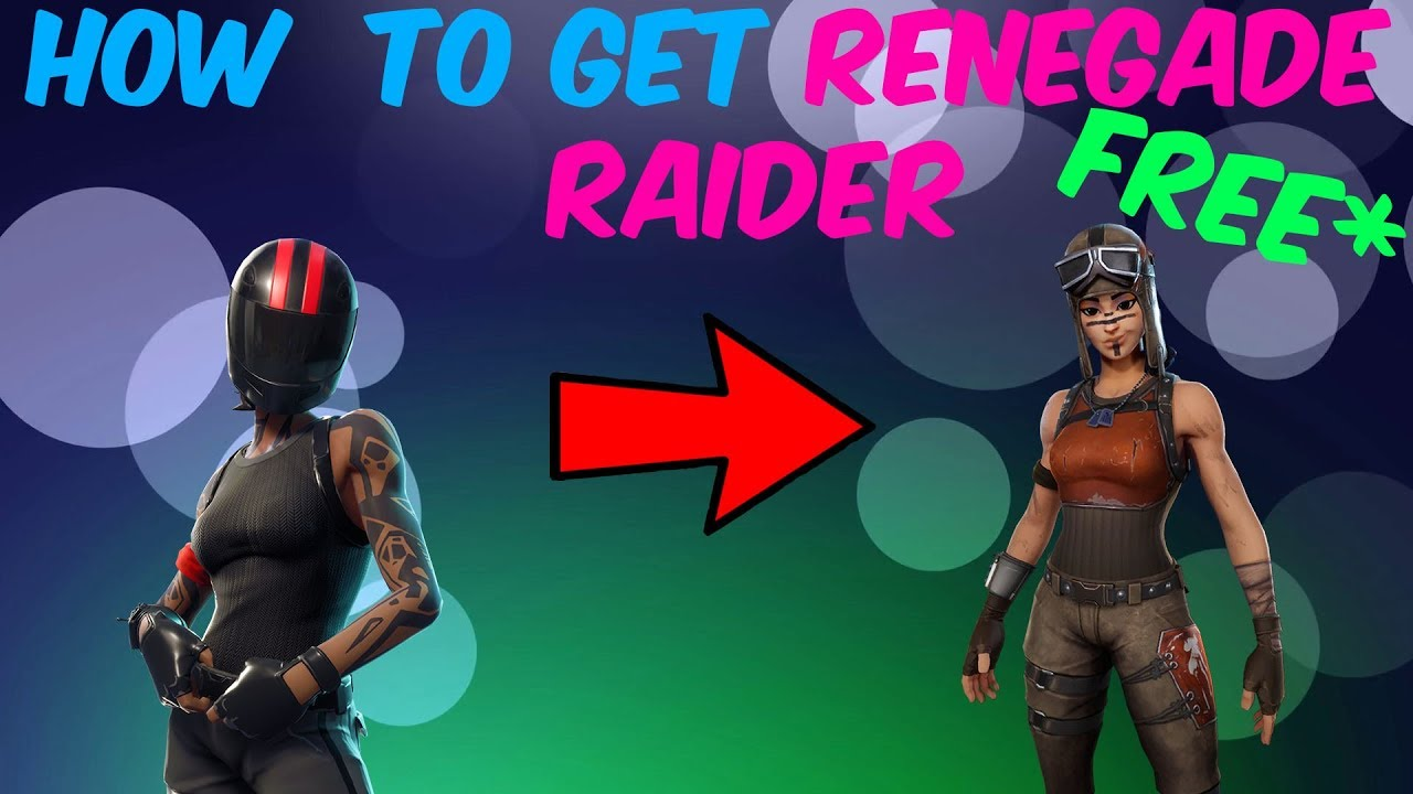 How To Get Renegade Raider Profile Picture