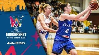 Croatia v Italy - Full Game - FIBA Women's EuroBasket 2019 - Qualifiers 2019