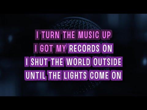 Every Teardrop Is A Waterfall Karaoke Version by Coldplay (Video with Lyrics)