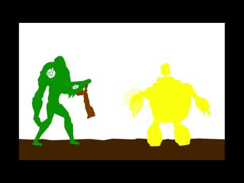 Ben Vs Avatar Aang Pt. 1
