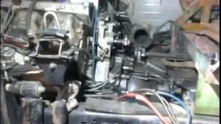Установка турбины на простой Камаз 740.