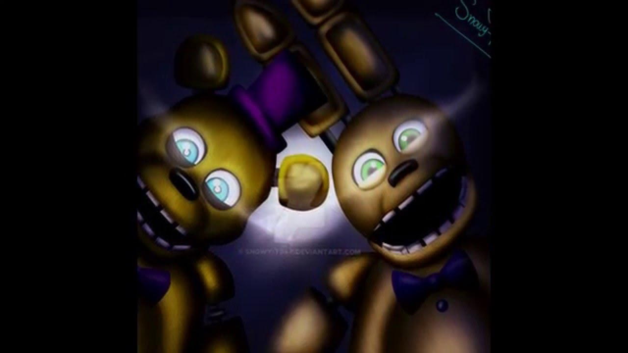 Golden Freddy Amp The Puppet Amp Springtrap Amp Nightmare
