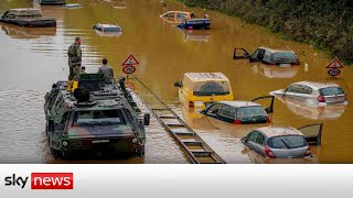Europe floods: 'It's absolutely uncertain at the moment'