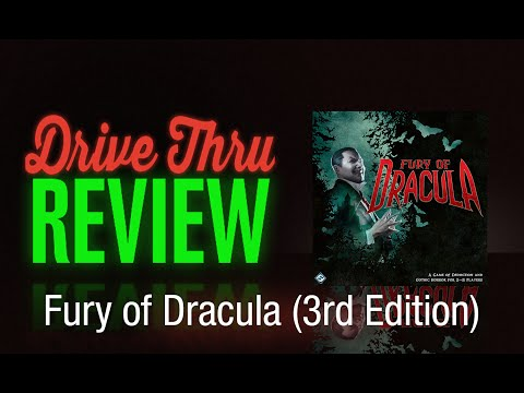 Fury of Dracula (3rd Edition) Review