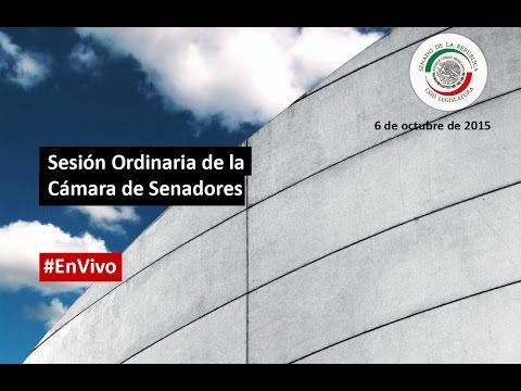 Sesión Ordinaria del Senado de la República