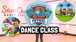Free Online Paw Patrol Dance Class