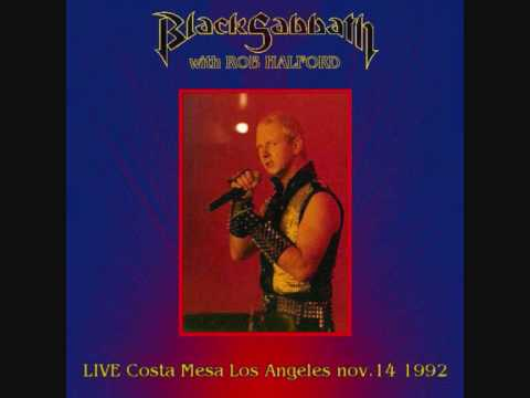 Black Sabbath with Rob Halford  - the mob rules (live at costa mesa 1992)