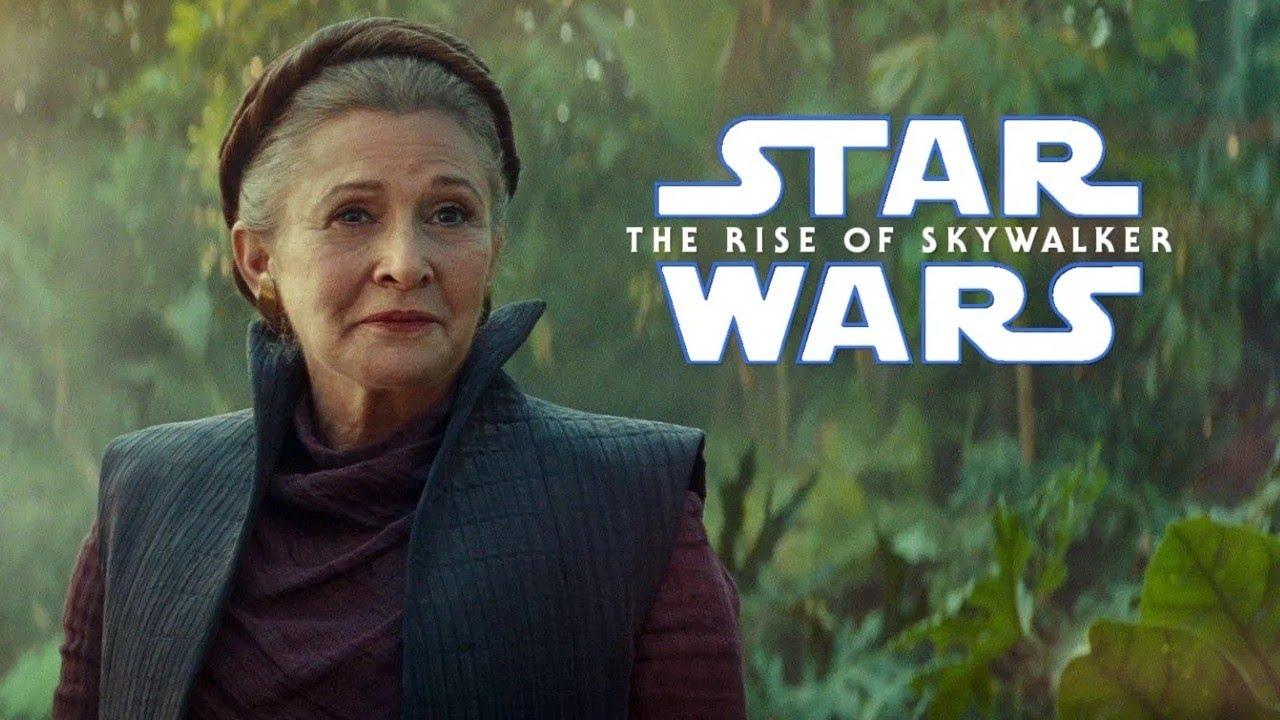 Star Wars Rise of Skywalker Episode IX Leia Organa Love!