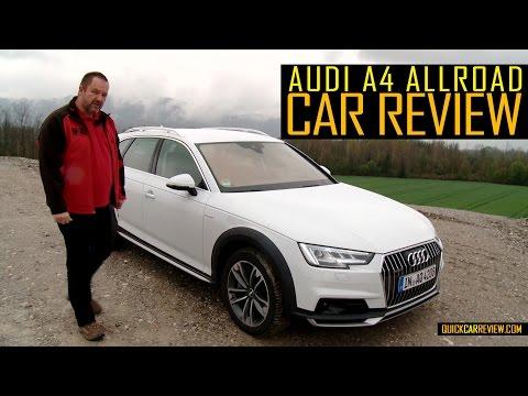 CAR REVIEW: 2016 Audi A4 Allroad Quattro Test Drive