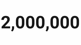 2 Millones!